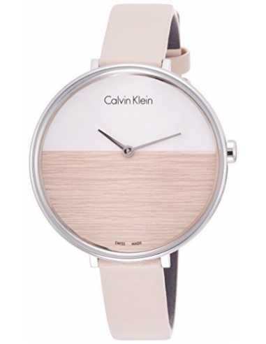 Calvin Klein Orologio Da Donna Della Collezione Rise. Rif. K7A231XH