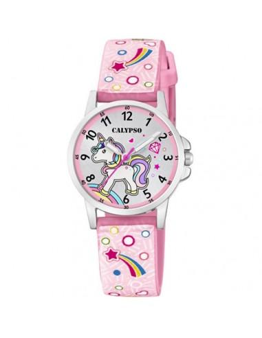 Calypso Watches Orologio Analogico Quarzo Uomo Bambini con Cinturino in Plastica K5776/5
