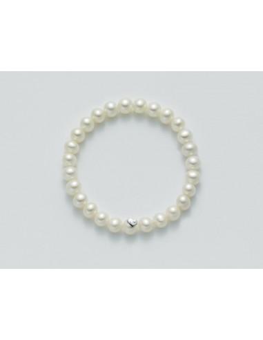 Miluna Bracciale Perle Donna6,5-7 mm.     Rif. PBR1666