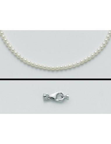 Miluna Collana Perle 8-8,5 mm e OroRif. PCL4202